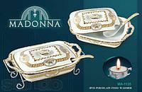 Мармит керамичный ( кастрюля ) 2,6л настольный Madonna MA-1135