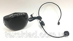 Громкоговоритель на пояс WMA-102 38W (USB/аккумулятор)