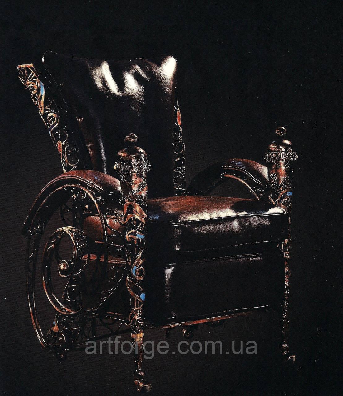 Эксклюзивные кованые кресла.
