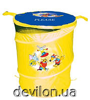 Бочка для игрушек желтая, арт. T0303А