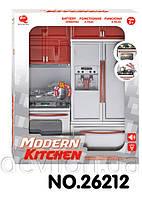 """Кукольная кухня """"Современная кухня""""-1, красная, арт. 26212"""