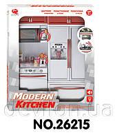 """Кукольная кухня """"Современная кухня""""-4, красная, арт. 26215"""