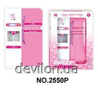 """Кукольная кухня """"Милый дом""""-холодильник, розовая, арт. 2550P"""