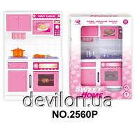 "Кукольная кухня ""Милый дом""-плита, розовая, арт. 2560P"