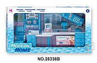 """Кукольный кабинет """"Современный дом"""", голубой, арт. 25338B"""
