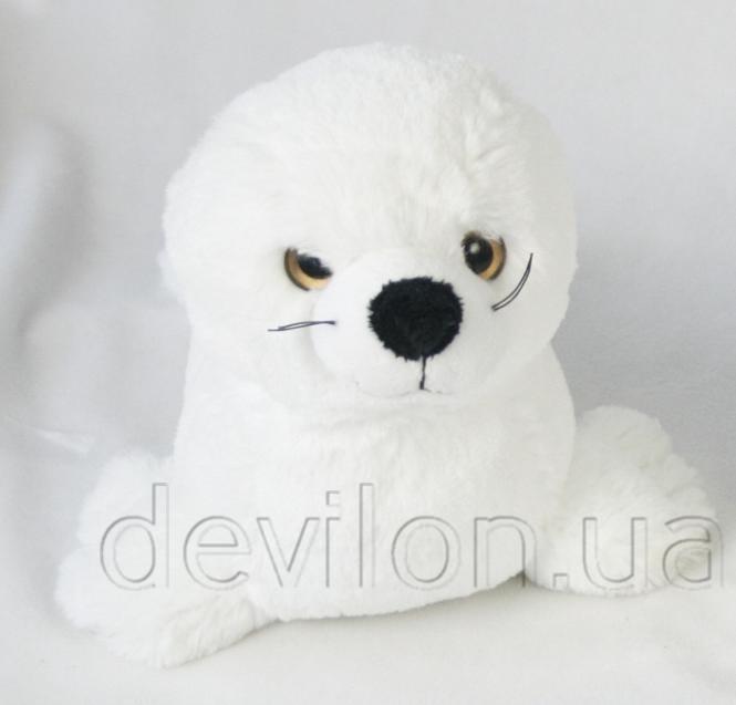 Морской котик белый, 27 см, арт. S1210427
