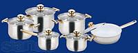Набор посуды ( Набор кастрюль ) 12 предметов BOHMANN BH 1231 SWC