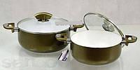 Набор посуды керамика ( набор кастрюль )4 предмета Bohmann BH-6002 WCR