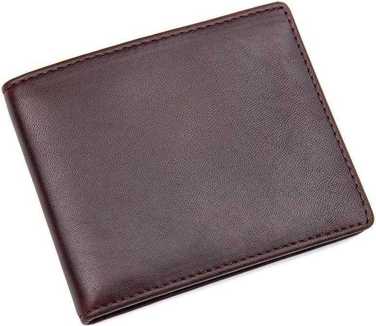 c002e6cb8913 Кошелек Vintage 14529 из натуральной кожи коричневый — только ...