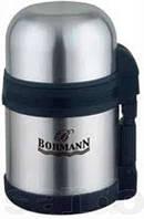 Термос 0,6л с широким горлышком 2в1 ( для еды и для чая ) Bohmann BH 4206
