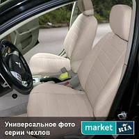 Чехлы на сиденья Mercedes E-Class (124) из Экокожи (AVTOMANIA), полный комплект (5 мест)