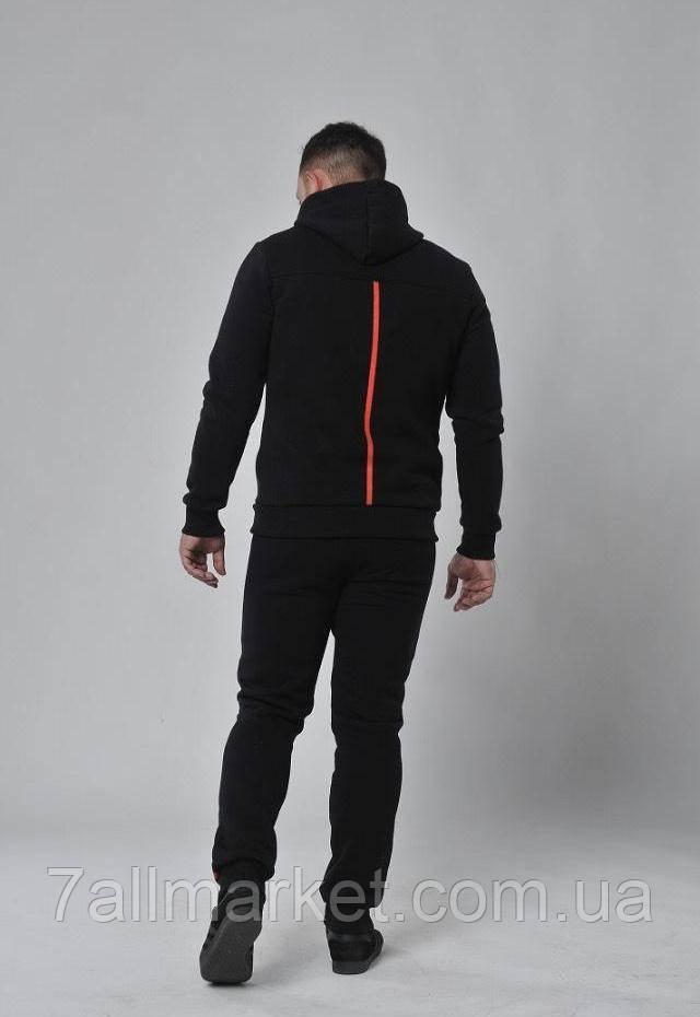 ... Спортивный костюм мужской на флисе с манжетами размеры S-2XL (2цвет)  Серия