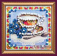 Набор для вышивки бисером ТМ АБрис Арт «Магнит мини» Травяной чай