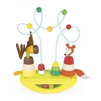 Развивающая игрушка Janod балансир Лось и лиса (J08197)