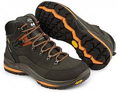 Чоловічі черевики зимові високі Grisport 13505 чорно-помаранчеві