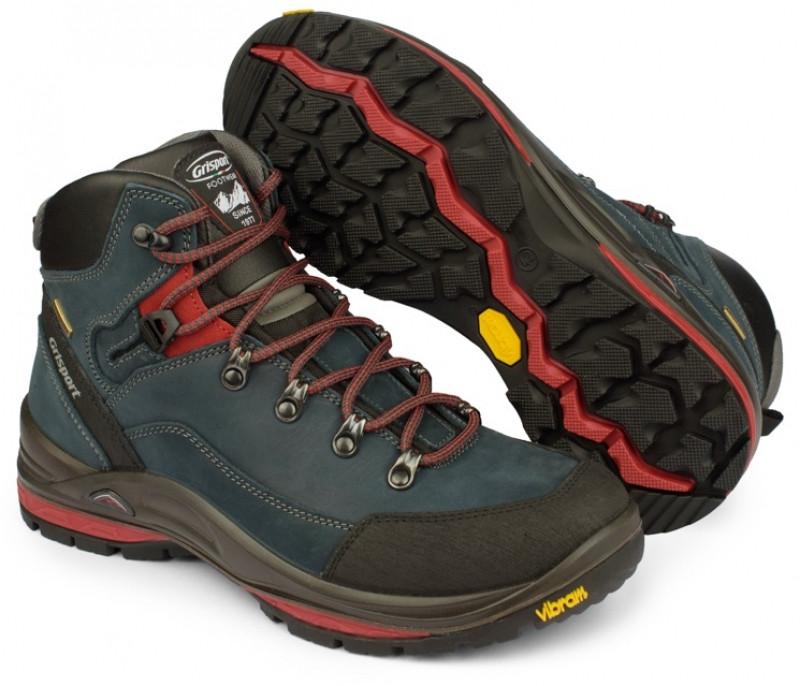 Мужские ботинки зимние высокие Grisport 13505 синие