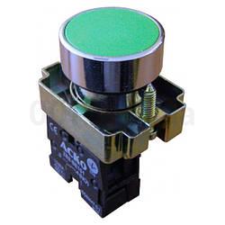 Кнопка без фиксации (1НО) зеленая XB2-BA31, АСКО-УКРЕМ