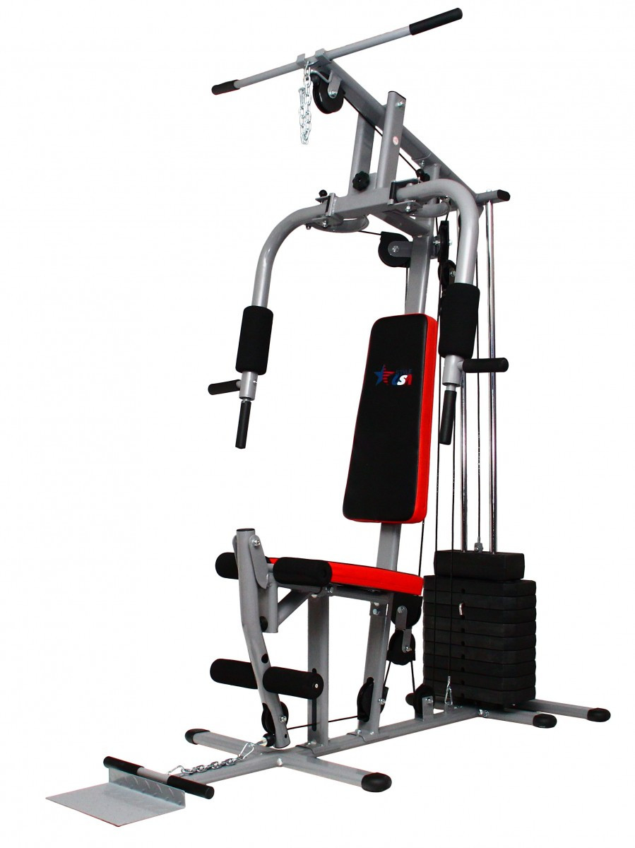 Тренажер cиловая-фитнес станция USA Style SS-JS-1503B для дома и спортзала