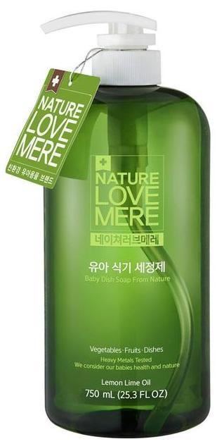 NATURE LOVE MERE - Средство для мытья детской посуды, 750 мл, NLM