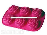 Розы Форма силиконовая HH-064