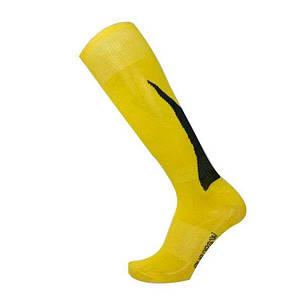 Футбольные гетры Europaw подростковые желто-черные, фото 2