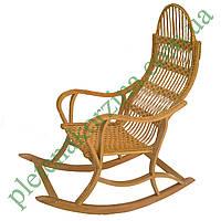 Плетеное Кресло-качалка из лозы разборное Арт.12610
