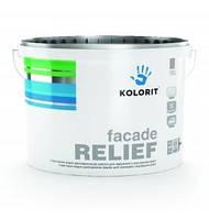 Краска фасадная Kolorit Standart R (екс: Колорит Фасад Рельеф (Facade Relief)) 9 л (База LAP)