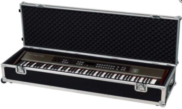 ROCKCASE RC21730 Кейс для синтезатора, туровый на колесах