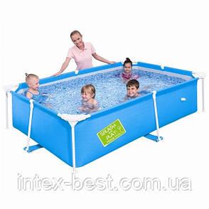 Детский каркасный бассейн Bestway 56220 Синий (239x150x58 см.), фото 2