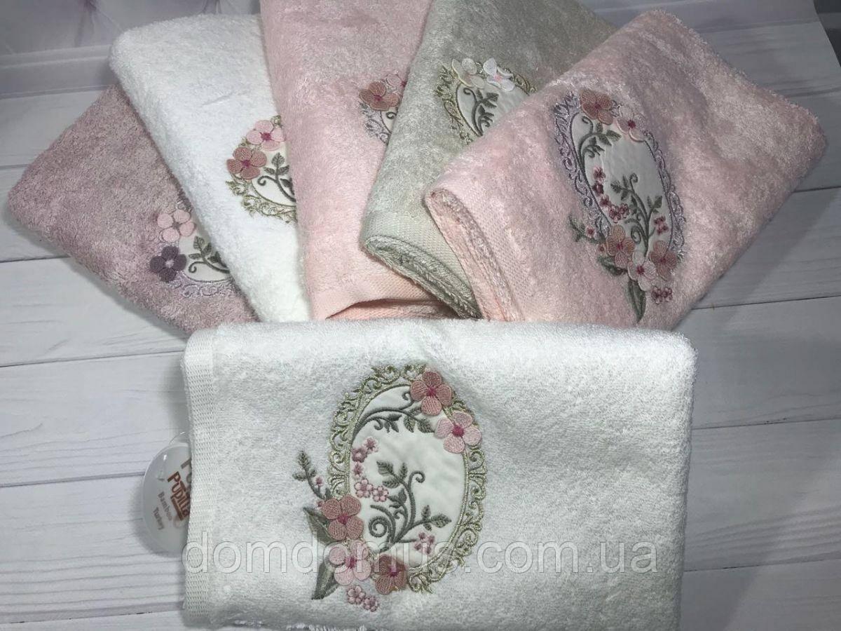 """Махровое банное полотенце """"Ayal"""" 50*90 (100% бамбук), Puppila, Турция"""