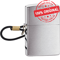 Зажигалка Zippo Losspfroof with Loop & Landyard Brushed Chrome 275