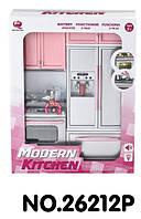 """Кукольная кухня """"Современная кухня""""-1,розовая, арт. 26212P"""