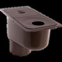 Дождеприемник пластиковый водосточный с вертикальным водоотводом ZMM-MAXPOL