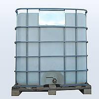 Еврокуб в решетке с металлическим краном 1000 литров