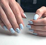 Гель-лак Oxxi professional (10 мл) №026 (нежно-голубой, эмаль), фото 6