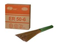 Сварочная проволока омедненная Solid ER50-6 1,0 мм (катушка 15кг)