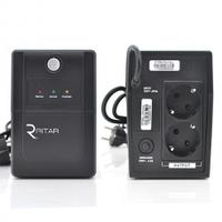 ИБП Ritar RTP850 (510W) Proxima-L, LED, AVR, 2st, 2xSCHUKO socket, 1x12V9Ah, plastik Case