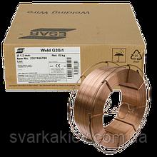 Сварочная проволока ESAB Weld G3Si ER70S-6 1,2 мм (катушка 15кг)