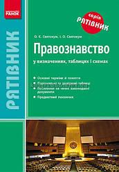 10-11 клас | Правознавство. Рятівник у визначеннях, таблицях і схемах | Святокум | Ранок