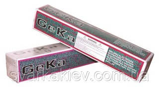 Электроды GEKA ELIT (E6013) 2,5х350мм/5 кг