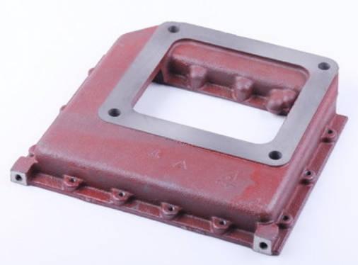 Плита радиатора (плита блока переходная) ZS/ZH1100, фото 2
