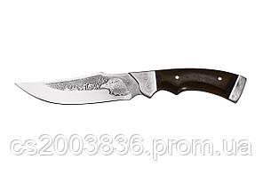 Нож охотничий Беркут ручной работы в комплекте кожаный чехол и экспертиза http://vek-rybaka.com