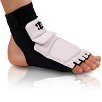 Защита для ног (стопа) PU BO-2601-W(M) (р-р M (35-36), l-22см, белая)