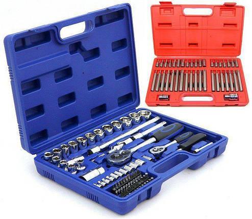 Набор инструментов 112 шт + набор ключей Torx 40 шт, фото 2