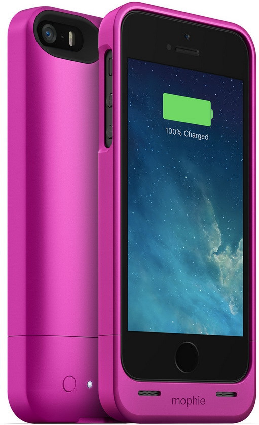 Аккумулятор для мобильного телефона Mophie Helium 1500 mAh for iPhone 5/5S 2544-JPH-IP5-PNK-I