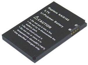 Аккумулятор Powerplant HTC KAIS130 (TyTN II, P4550, v1615) DV00DV6163