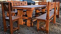 Стол под старину из массива сосны ( обеденный)