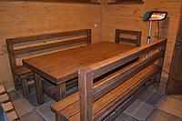 Стол под старину ( классического дизайна для бани)