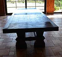 Массивный стол под старину, из натурального дерева