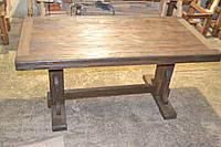 Стол состаренный из массива сосны